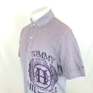 Tommy Hilfiger Mens Polo Shirt Sz Medium Ombre